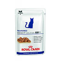 Консервы 100 г для стерилизованных котов склонных к избыточному весу Роял Канин / NEUTERED WEIGHT BALANCE Roya