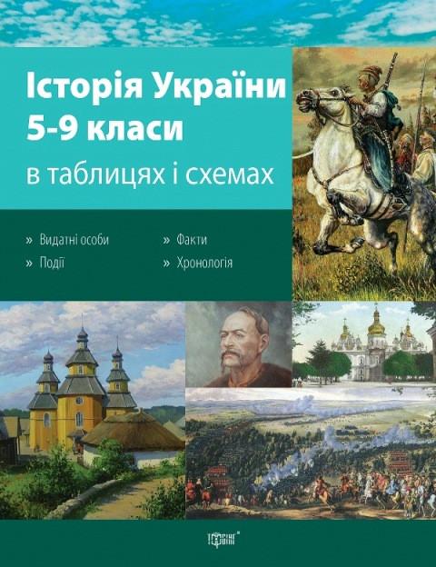 Таблицы и схемы. История Украины 5-9 классы