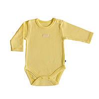 Боди для новорожденных жёлтое