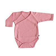 Боди для новорожденных розовое