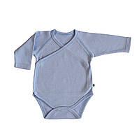 Боди для новорожденных голубое