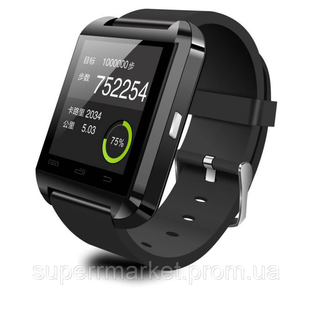 Смарт - часы SMART WATCH U8 black