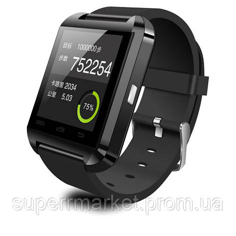 Смарт - часы SMART WATCH U8 black, фото 2