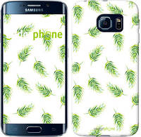 "Чехол на Samsung Galaxy S6 Edge G925F Пальмовые ветки ""3581c-83"""