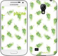 """Чехол на Samsung Galaxy S4 mini Duos GT i9192 Пальмовые ветки """"3581c-63"""""""