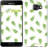 """Чехол на Samsung Galaxy A3 (2016) A310F Пальмовые ветки """"3581c-159"""""""