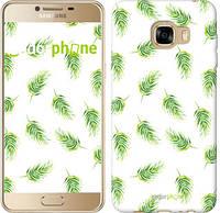 """Чехол на Samsung Galaxy C5 C5000 Пальмовые ветки """"3581u-301"""""""