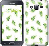 """Чехол на Samsung Galaxy J2 Prime Пальмовые ветки """"3581u-466"""""""