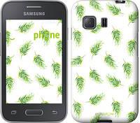 """Чехол на Samsung Galaxy Young 2 G130h Пальмовые ветки """"3581u-206"""""""