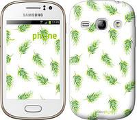 """Чехол на Samsung Galaxy Fame S6810 Пальмовые ветки """"3581u-254"""""""