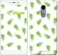 """Чехол на Xiaomi Redmi Note 4 Пальмовые ветки """"3581c-352"""""""