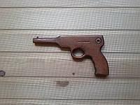 Пистолет деревянный детский 21 см