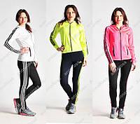 Молодежный женский спортивный костюм Adidas!  Кофта + лосины для спорта!