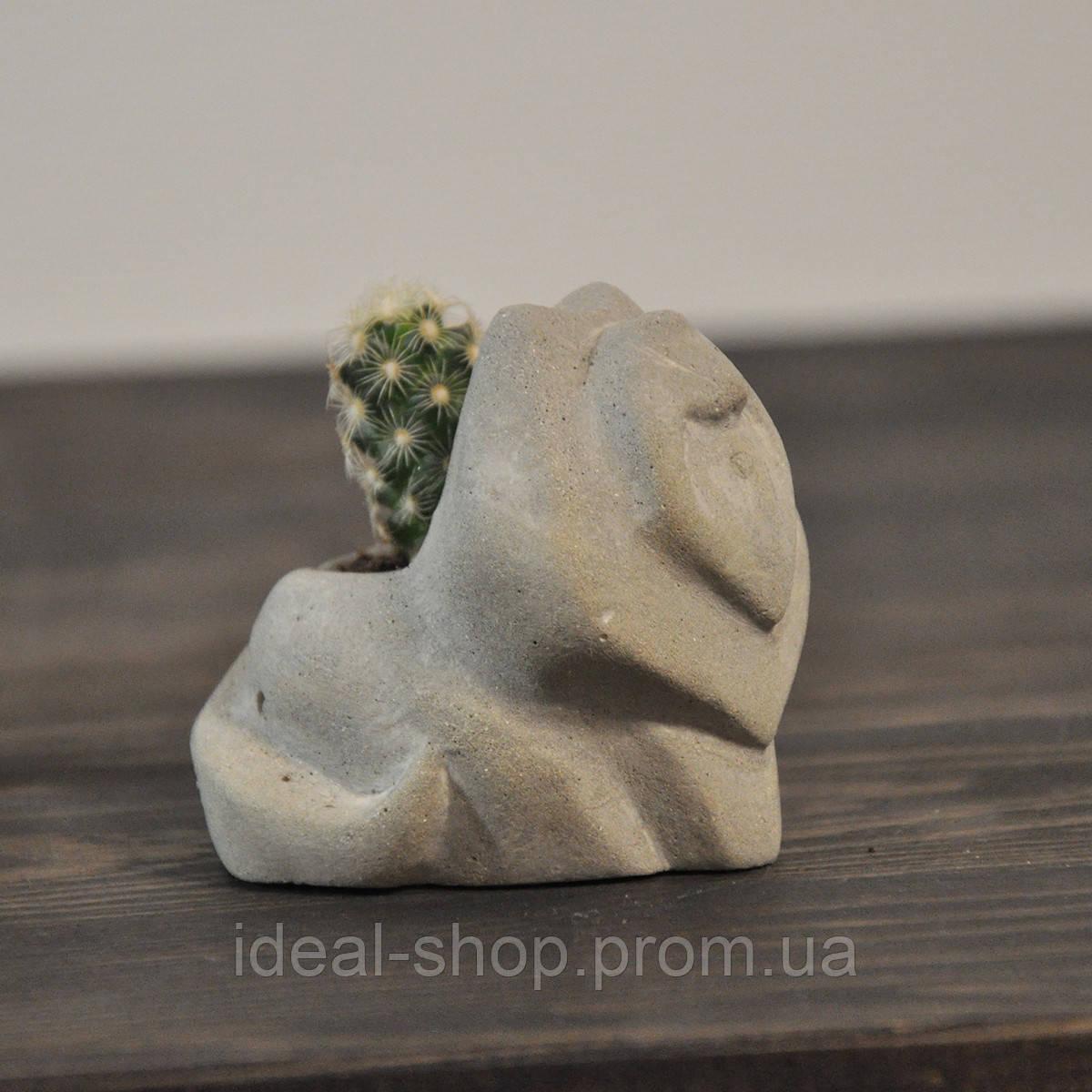 Бетонная ваза «Лисичка» mini