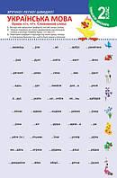"""Тренажер школьника. Украинский язык 2 класс. Буквы """"г"""", """"ґ"""". Словарные слова"""