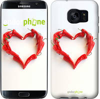 "Чехол на Samsung Galaxy S7 Edge G935F Любовь с перцем ""730c-257"""