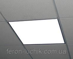 Светодиодная панель 600*600 40W матовый рассеиватель (встраиваемый под армстронг) LUMEN