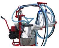 Доильный аппарат для доения двух коз Белка-2