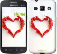 "Чехол на Samsung Galaxy Core Plus G3500 Любовь с перцем ""730u-359"""