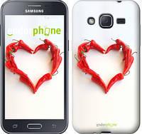 """Чехол на Samsung Galaxy J2 Prime Любовь с перцем """"730u-466"""""""