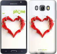 "Чехол на Samsung Galaxy J5 (2016) J510H Любовь с перцем ""730c-264"""