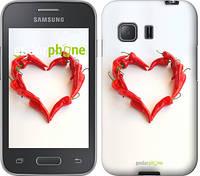 """Чехол на Samsung Galaxy Young 2 G130h Любовь с перцем """"730u-206"""""""
