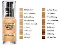 Max Factor Тональный крем Miracle Match 30 ml. № 40 Light Ivory
