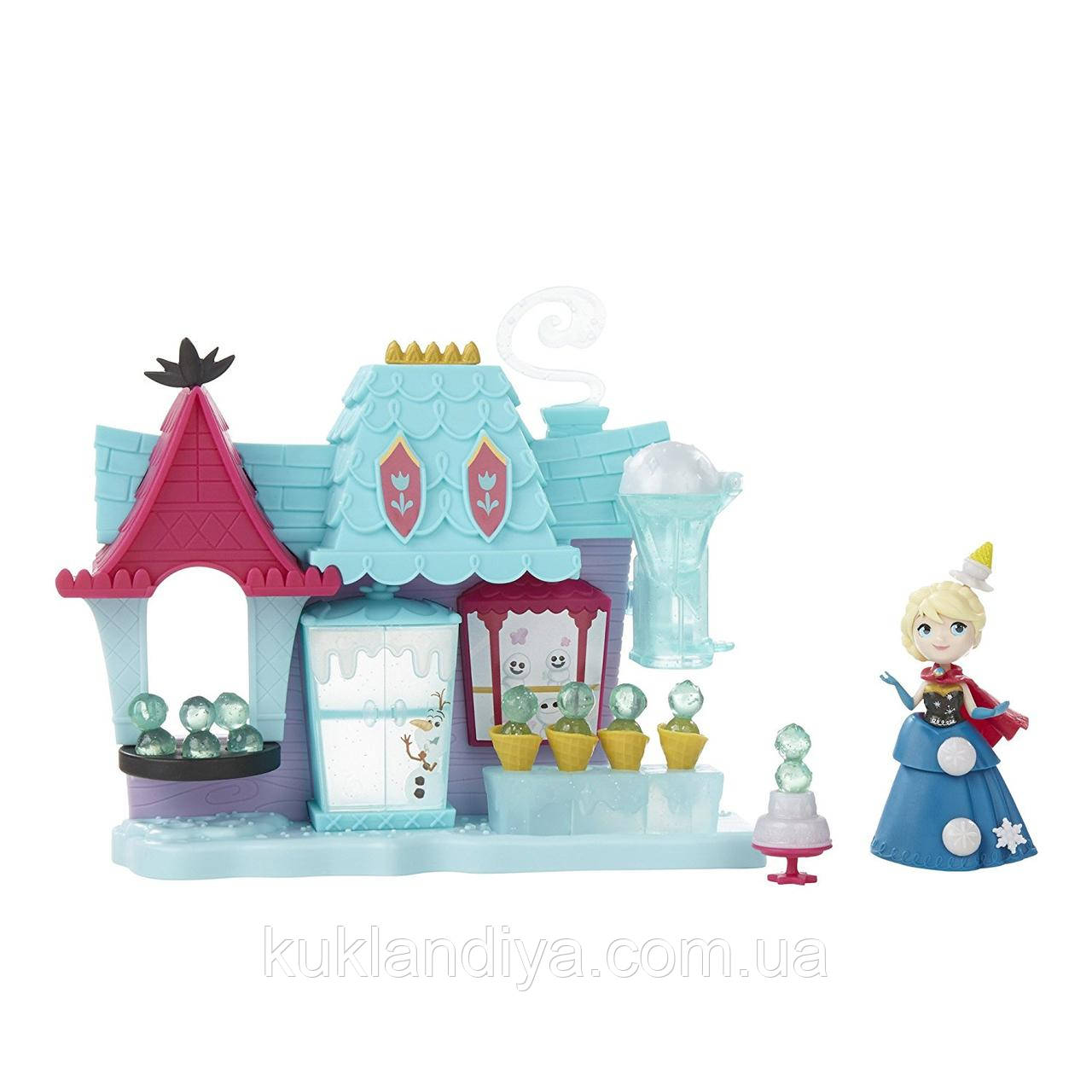Ігровий набір Дісней Фрозен Маленьке королівство Ельза і Магазин солодощів Эренделла