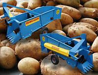 Картофелекопатель Krukowiak однорядный с боковым выбросом (Польша)