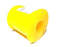 Втулка стабилизатора Газель (круглая) полиуретан желт. (пр-во Липецк, Россия)