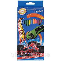 """Карандаши цветные Kite """"Hot wheels"""" 12 цветов"""