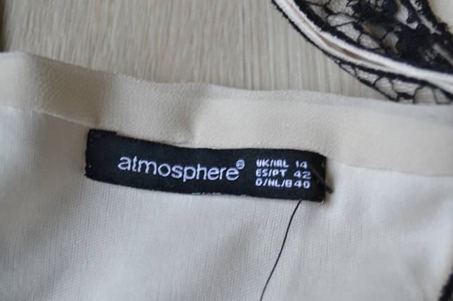 Новое шифоновое платье с цельнокроеным рукавом и кружевом Atmosphere, фото 2