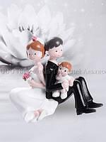 Весільні фігурки — Modecor 28477 - 10 см, фото 1