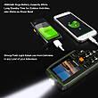 UHANS V5 Green Army 2 SIM, яркий фонарик, громкий динамик, функция Power Bank 2500 мАч, фото 5