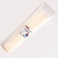Хомуты нейлоновые CarLife 4,7 x 380 белые