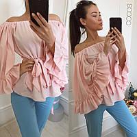 Стильная женская блуза шелк