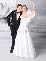 Весільні фігурки — Modecor 28488 - 15,5 см