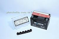 Аккумулятор для мотоцикла 12 В 4 Аh электролит оригинал Alpha/Delta