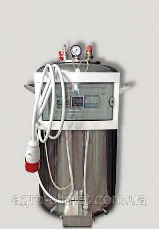 """Автоклав электрический из нержавейки (380В) на 100 банок + Водяное охлаждение """"Престиж"""", фото 2"""