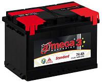 Аккумулятор A-Mega STANDART 74А Ев (-/+) (720EN) ,74А
