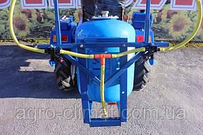 Опрыскиватель на мотоблок 50 л ширина захвата 4,5 м (без компрессора), фото 2