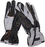Перчатки охотничьи поларовые Thinsulate (L) зимний камуфляж MFH 15423E