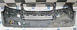 Декоративно-защитная сетка радиатора Volkswagen Transporter T5 фальшрадиаторная решетка, бампер, фото 4