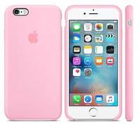 """Оригинальный силиконовый чехол для Apple iPhone 6/6s (4.7"""")            Светло-розовый"""