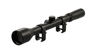Оптический прицел Tasco 4x28 с креплением