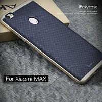 Чехол iPaky TPU+PC для Xiaomi Mi Max            Черный / Золотой