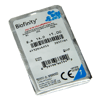 Контактные линзы Biofinity 1шт