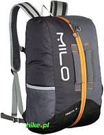 Рюкзак Milo Directe 30 тёмно-серый/светло-серый/жёлтый