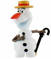 Фигурка Bullyland Disney Frozen Снеговик Олаф в шляпке (12969)