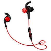 Навушники вакуумні з мікрофоном безпровідні 1More iBFree Red